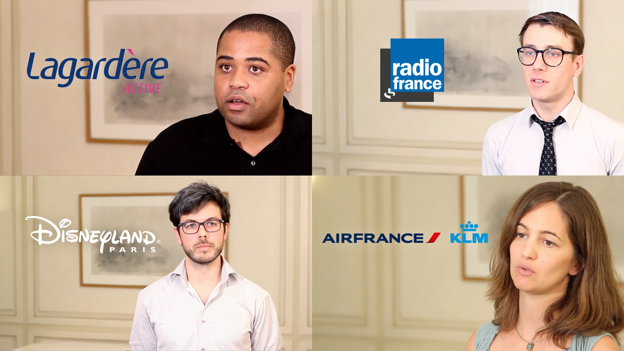 Disneyland Paris, Air France, Lagardère Active, and Radio France discuss tag management