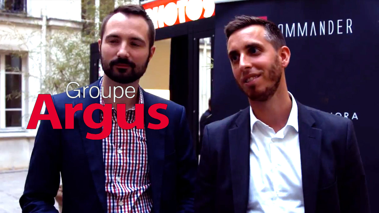 Rémy Bertin, Audience and Monetisation Manager and Cédric Cichowlas, Marketing Manager at Groupe Argus